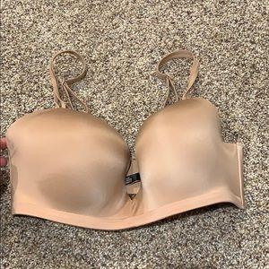 VS Nude Body by Victoria Wireless bra 36DD